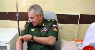 وزیر دفاع روسیه هم از واکسن کرونا استفاده کرد