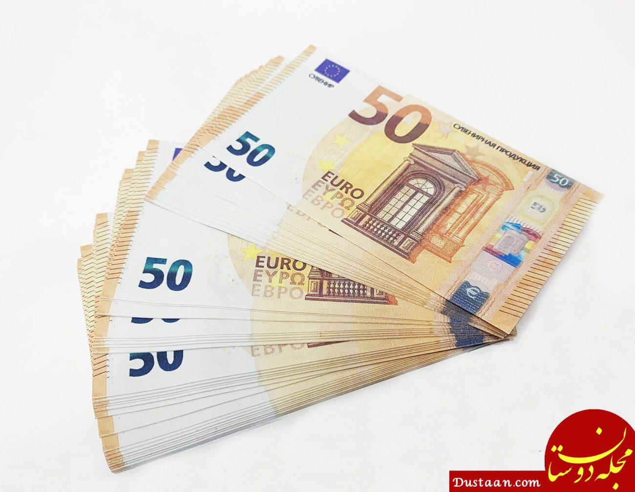 فروش یوروهای جعلی در فضای مجازی