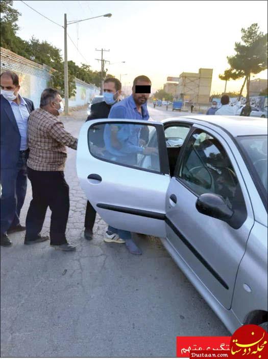 این جوان اعضای یک خانواده را در مشهد به خون کشید +عکس