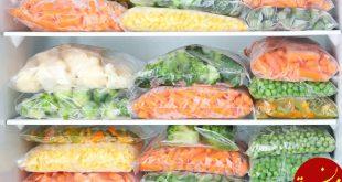 فریز کردن سبزی ها در خانه با چند ترفند ساده