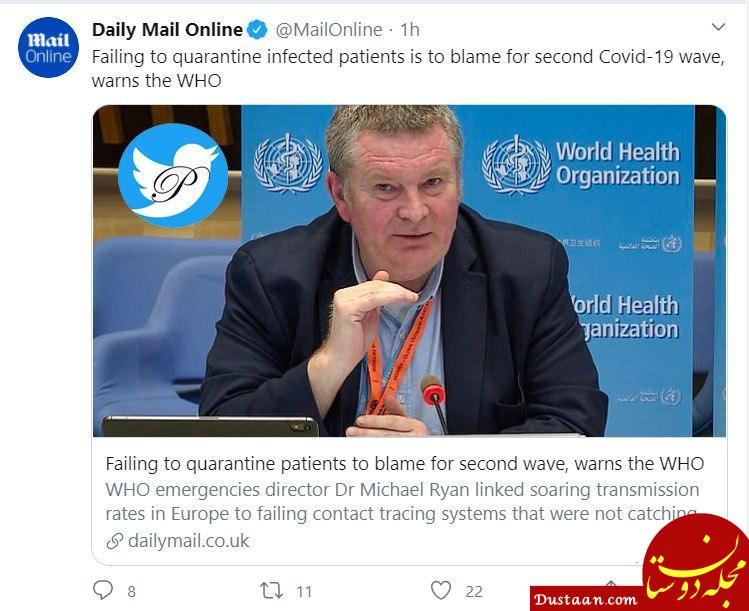 مقصر موج دوم جهانی کرونا از زبان سازمان جهانی بهداشت