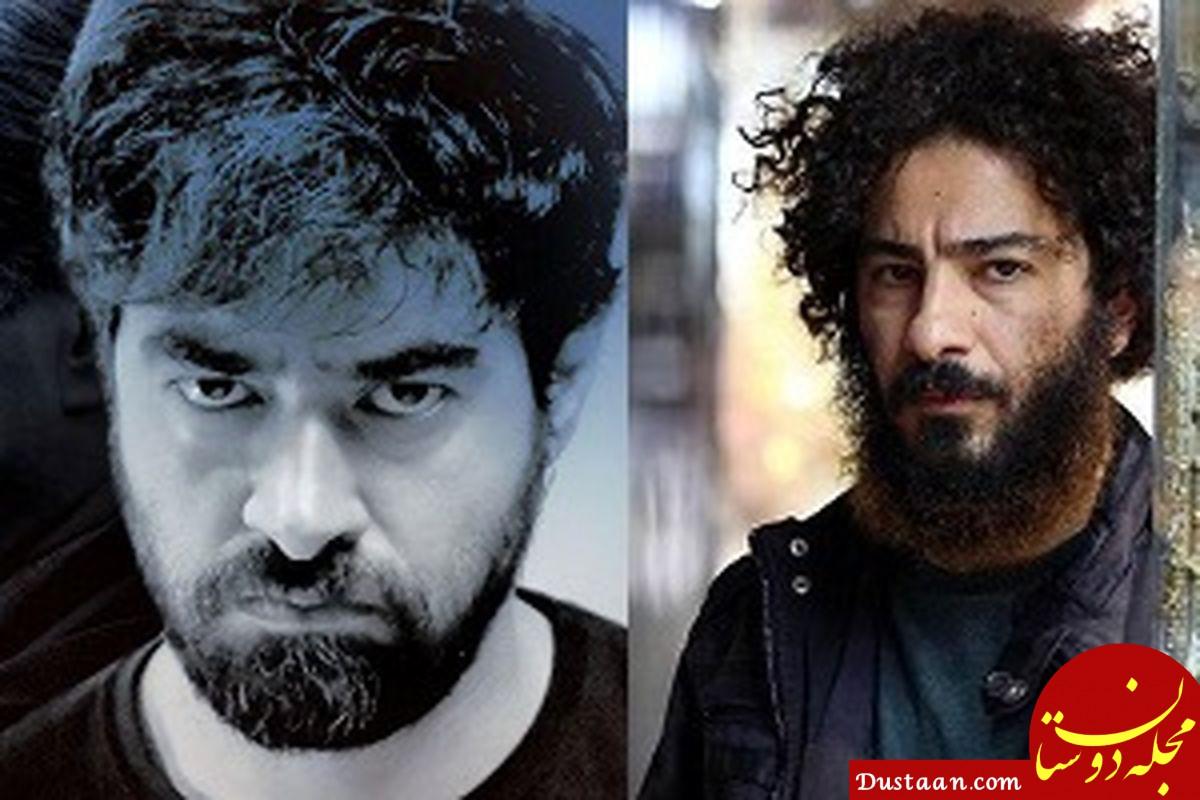 نوید محمدزاده روبروی شهاب حسینی