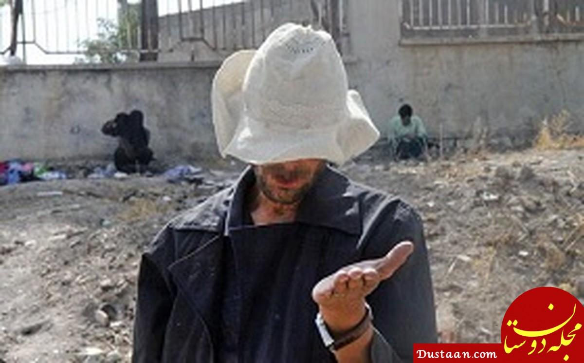 متکدی میلیاردر در قزوین روانه زندان شد!