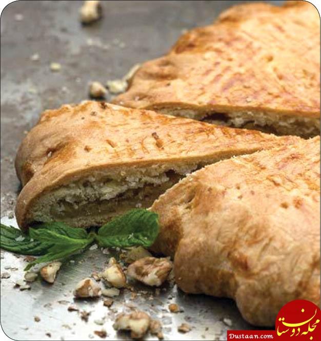طرز تهیه نان مغزدار مقوی و سالم