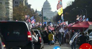 گزارش امروز از معرکه ترامپ در واشنگتن به روایت گاردین