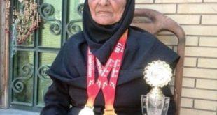 گفت و گو  مادر بزرگ ایرانی؛ قهرمان ماراتن دبی