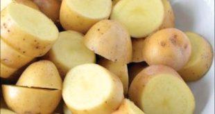 روش های نگهداری سیب زمینی خرد شده