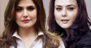 پرتی زینتا و زرین خان در سریال قربان محمدپور؟