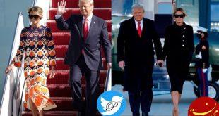 کت دامن رسمی ملانیا ترامپ به لباس 3700 دلاری تبدیل شد!