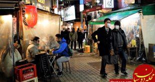 یک سال زندان برای کرونایی های لجوج در ژاپن!