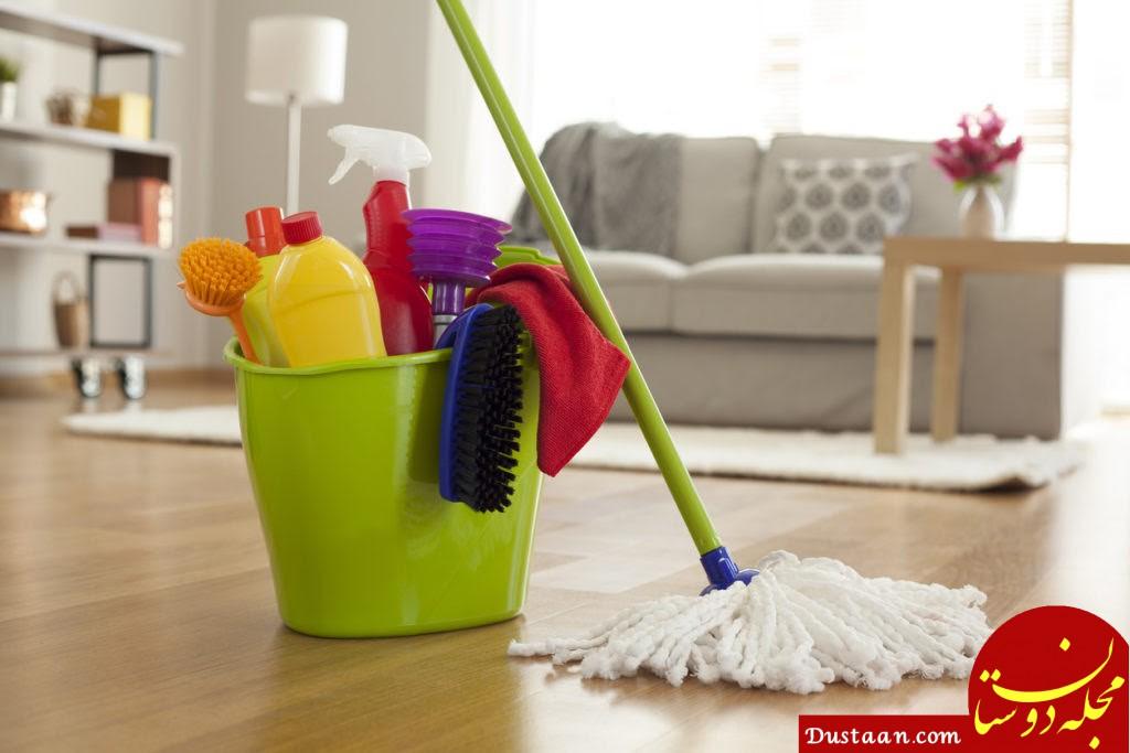 نکاتی برای تمیزکاری حرفه ای خانه جدید