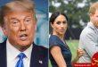 نظر ترامپ درباره مگان بعد از مصاحبه جنجالی با اپرا وینفری