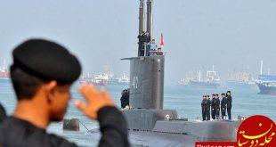 زیردریایی اندونزی با ۵۳ خدمه گم شد
