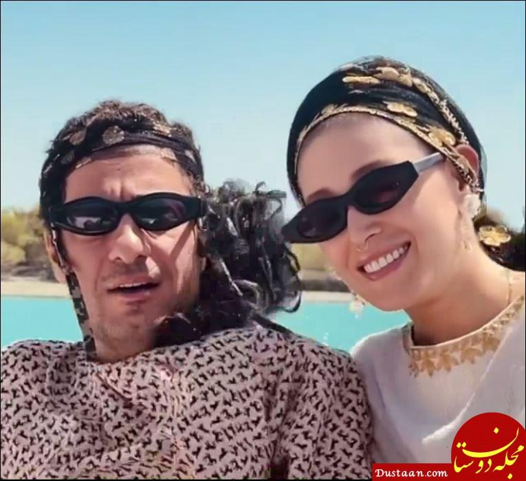 بیوگرافی و عکس های دیدنی نوید محمدزاده و همسرش فرشته حسینی