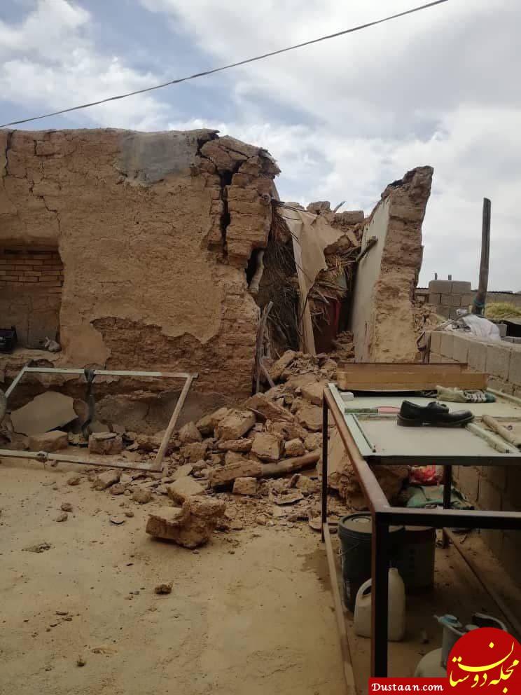 تصاویری از خسارت زلزله در برخی روستاهای گناوه
