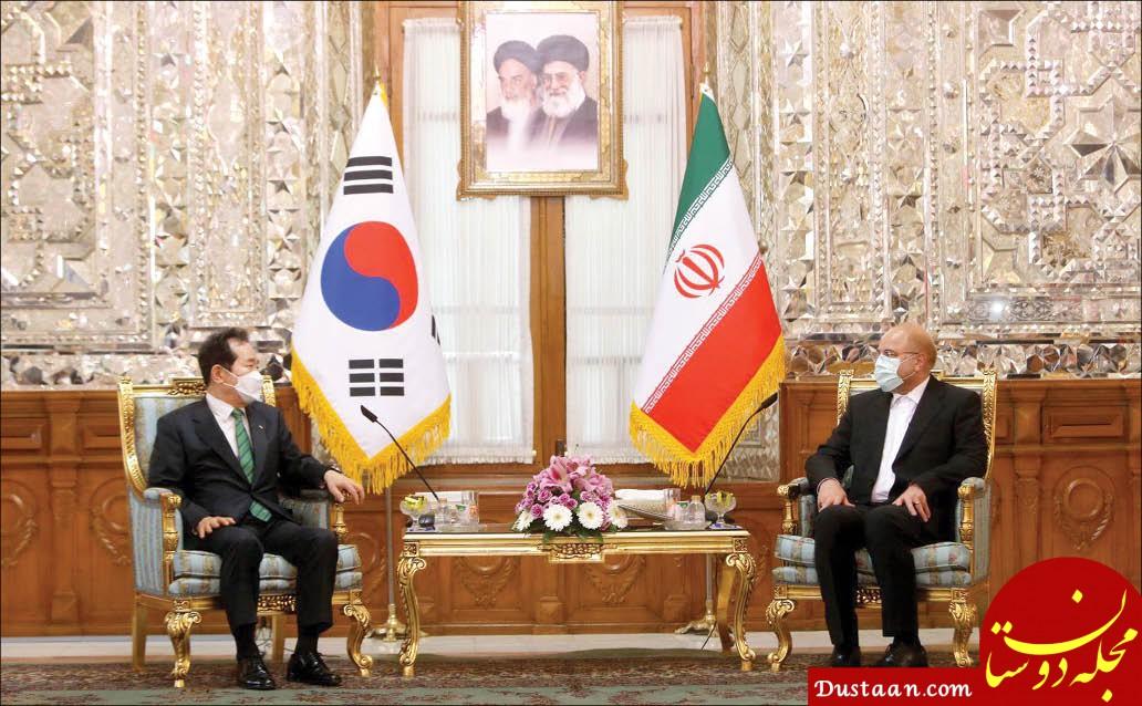انتقادات تند قالیباف به نخست وزیر کره جنوبی