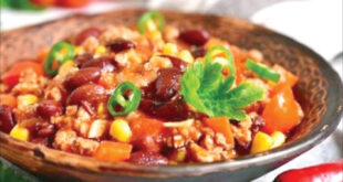 طرز تهیه خوراک سبزیجات برای سحری