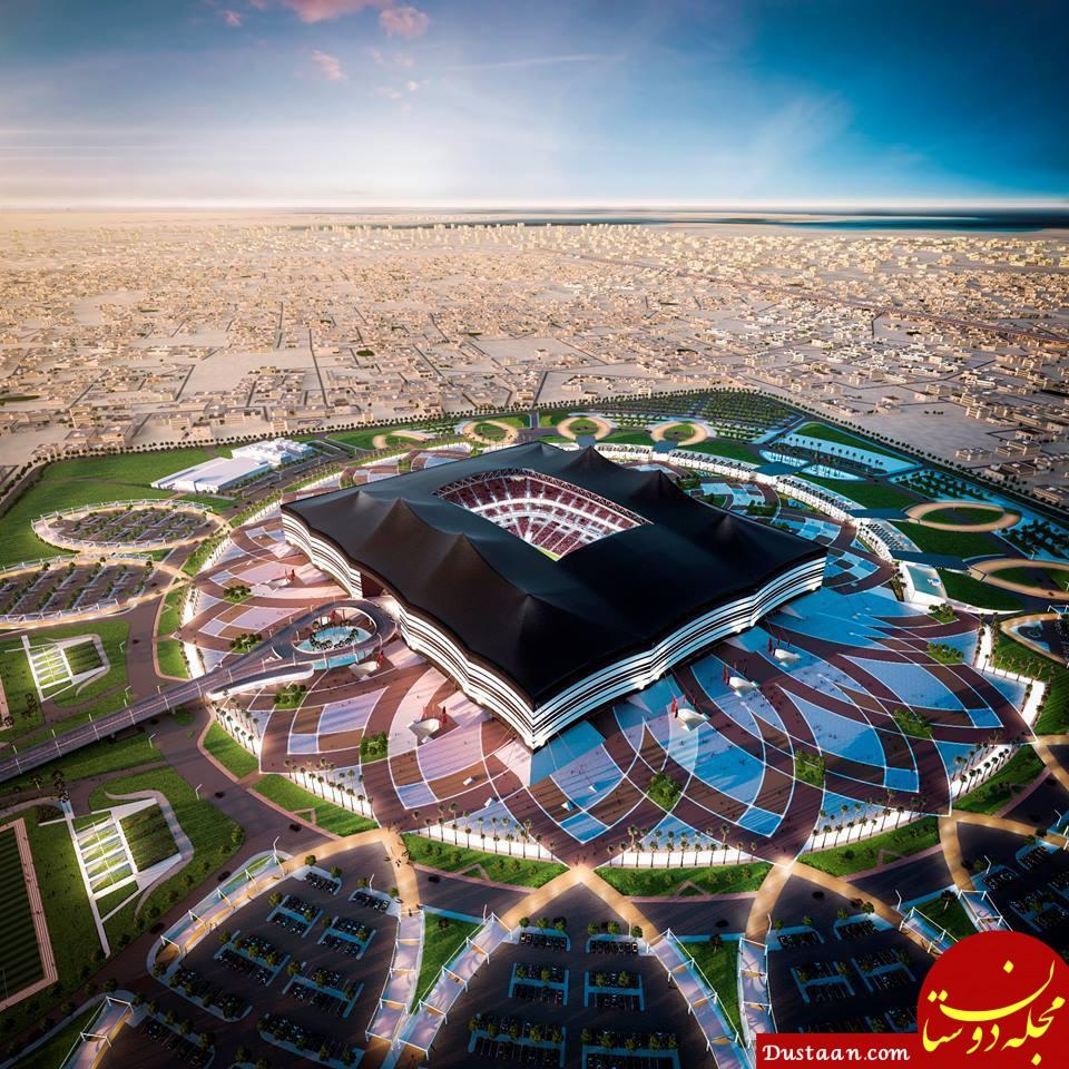 ادعای قطری ها برای میزبانی جام جهانی ۲۰۲۲ / بدون کووید ۱۹، بدون کربن!