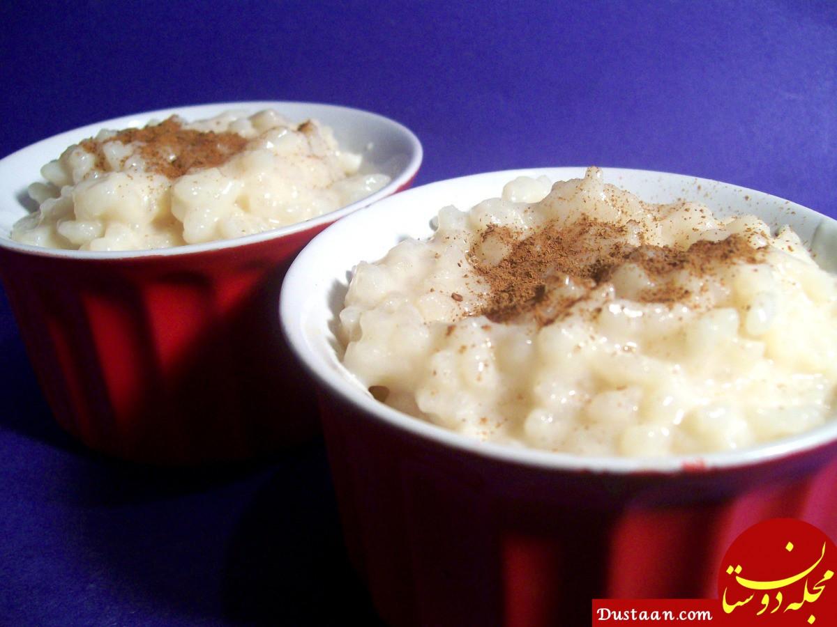 فوت و فن پخت شیر برنج خوشمزه در خانه