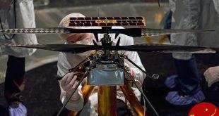 دومین پرواز موفق اینجنیوتی در مریخ