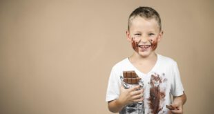 بیش فعالی در کودکان با مصرف شکلات بیش از حد
