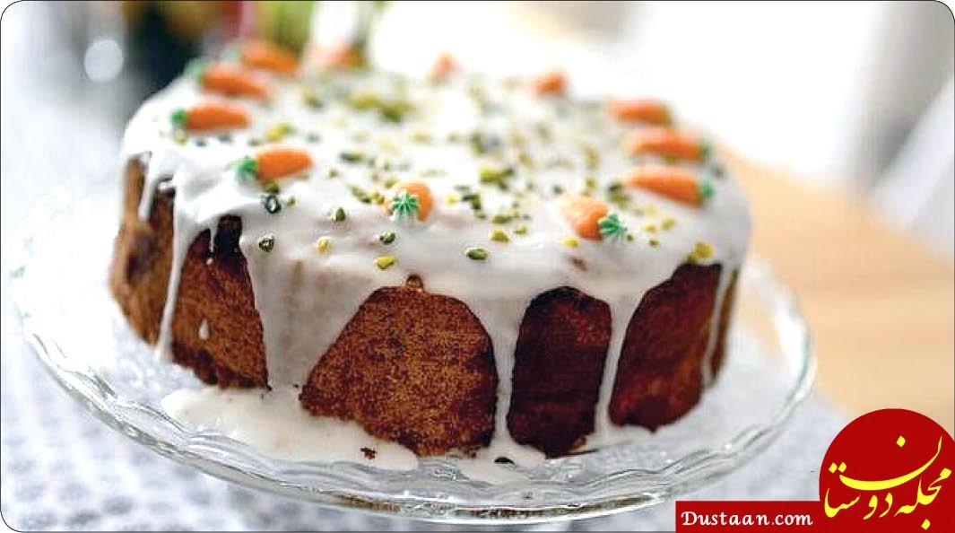 طرز تهیه کیک هویج خانگی؛ ساده و خوشمزه