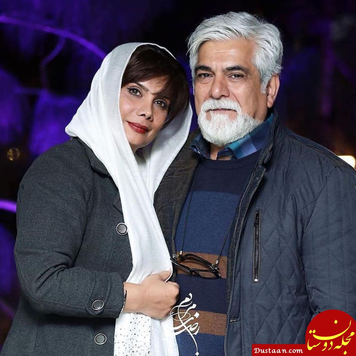 بیوگرافی و عکس های دیدنی حسین پاکدل و همسرش عاطفه رضوی و دخترش صبا