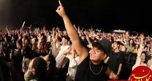 حضور 11 هزار چینی در فستیوال موسیقی در ووهان