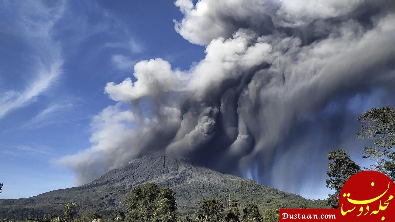 مهیب ترین انفجار کره زمین! +عکس