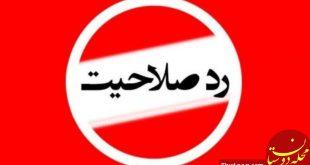 گزارش سخنگوی دولت از آمار رد صلاحیت شده های شوراها