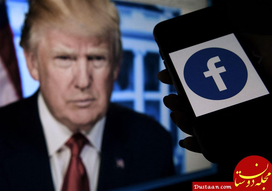فیس بوک ممنوعیت ترامپ روی پلتفرم خود را 6 ماه دیگر تمدید کرد