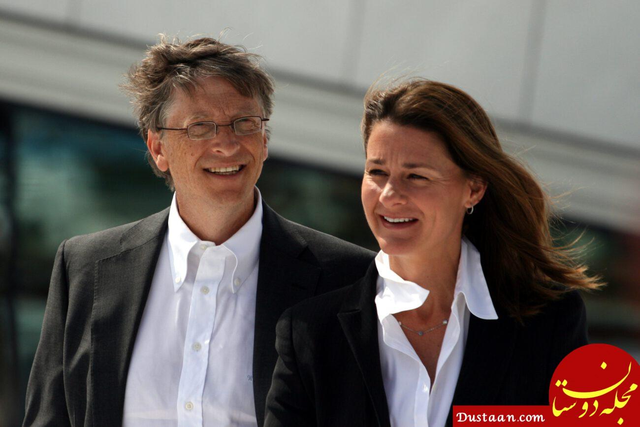 چک 1.8 میلیارد دلاری بیل گیتس به همسرش