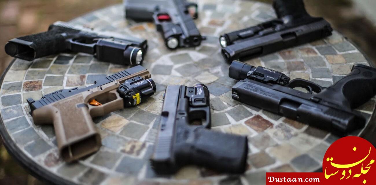 تفنگ فروش فضای مجازی دستگیر شد