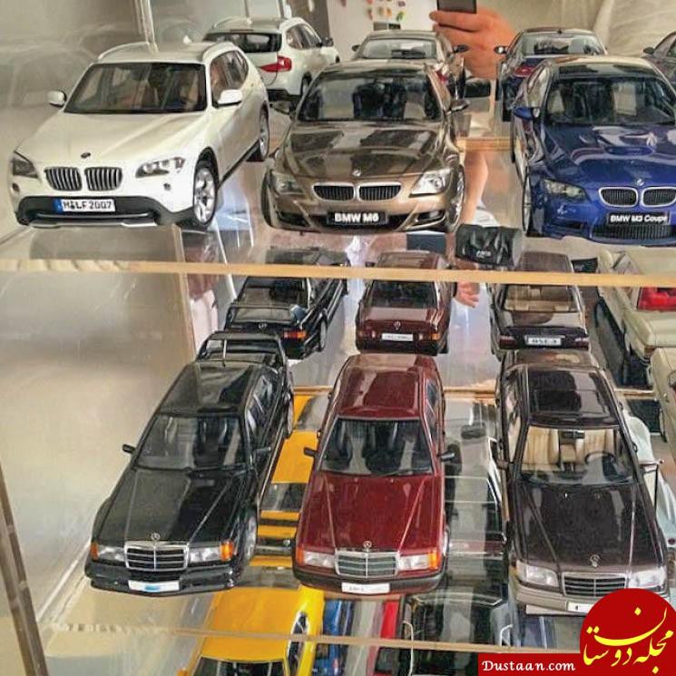 هالک ایرانی و کلکسیون ماشین های ماکتش