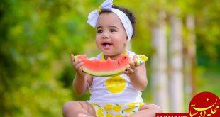 فواید و مضرات خوردن هندوانه برای کودک