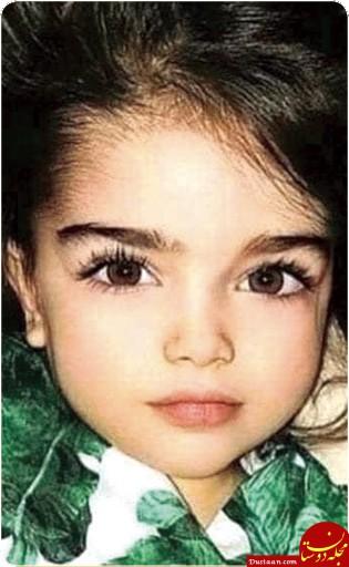 فرشته ۳ ساله غزه پر کشید +عکس