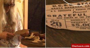 زن آمریکایی بعد از ۴۶ سال کیف پولش را پیدا کرد!