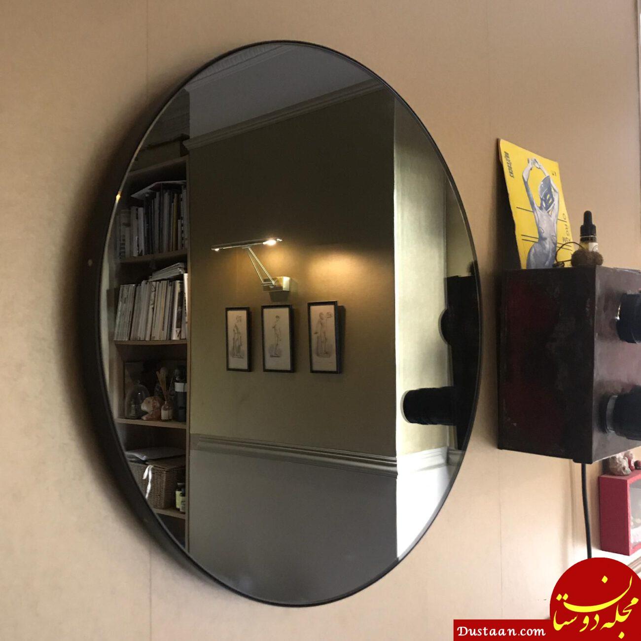 استفاده از آینه های رنگی در دکوراسیون داخلی