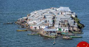 پرجمعیت ترین جزیره جهان در کنیا! +عکس