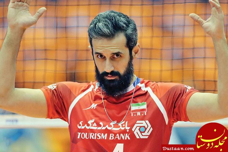 خداحافظی سعید معروف از تیم ملی + المپیک توکیو