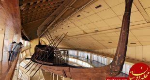 جابجایی قایق 4600 ساله پادشاه خوفو