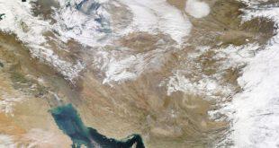 تصویری از وضعیت آب و هوای امروز ایران از ماهواره ناسا را مشاهده می کنید.    ...