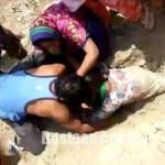 دختر 19 ساله ای که دو ساعت پس از دفن شدن زنده شد +فیلم و عکس