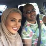 عکس احساسی حدیثه تهرانی و همسرش کیان مقدم، کنار ساحل