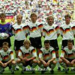 تصویری خاطره انگیز از تیم ملی آلمان در جام جهانی 1990