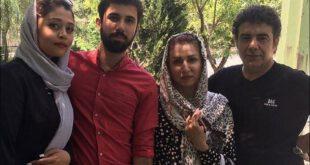 تصویری دیدنی از حسن شکوهی بازیگر ۴۶ ساله کشورمان به همراه همسر، پسر و عروسش را مشاهده می کنید.   حسن شکوهی...