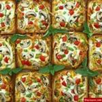 طرز تهیه پیتزای تک نفره با نان تست به سبکی آسان و خوشمزه +عکس