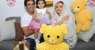 تصویری از زوج هنرمند سینما و تلویزیون، یکتا ناصر و همسرش منوچهر هادی را به همراه فرزندشان مشاهده می کنید.  ...