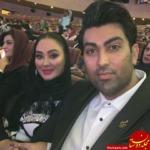 ازدواج الهام حمیدی /بیوگرافی و عکس های الهام حمیدی و همسرش علیرضا صادقی