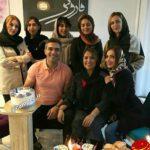 احمدرضا عابدزاده در کنار همسر و فرزندانش + عکس و بیوگرافی